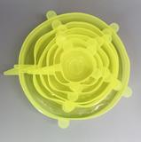 Set silicone stretch lids_